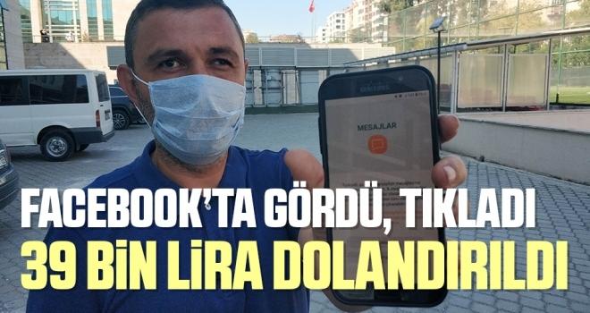 Samsun'da 39 Bin Lira Dolandırıldı!