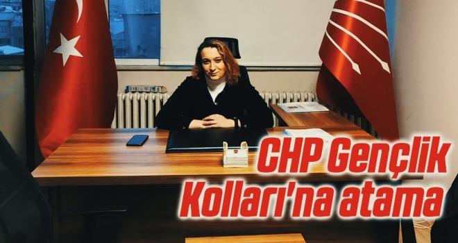 CHP GençlikKolları'na atama