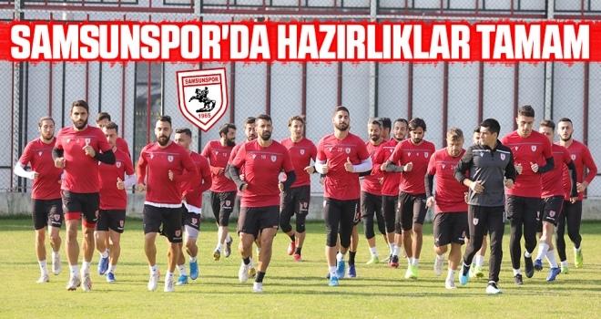 Yılport Samsunspor'da Hazırlıklar Tamam! Trabzon'a Hareket Ettiler