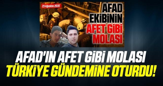 AFAD'ın afet gibi molası Türkiye gündemine oturdu!