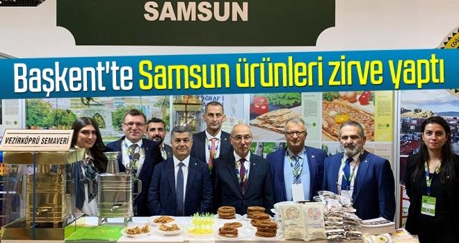 Başkent'te Samsun ürünleri zirve yaptı