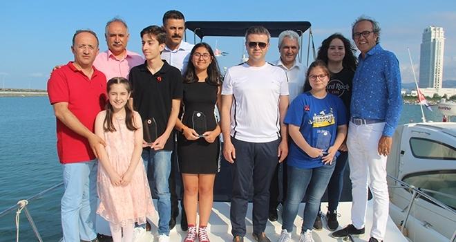 Samsunlu LGS Şampiyonlarına Yat Gezisi