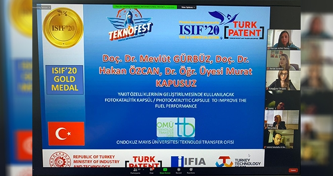 OMÜ öğretim üyelerinin ISIF'20 başarısı