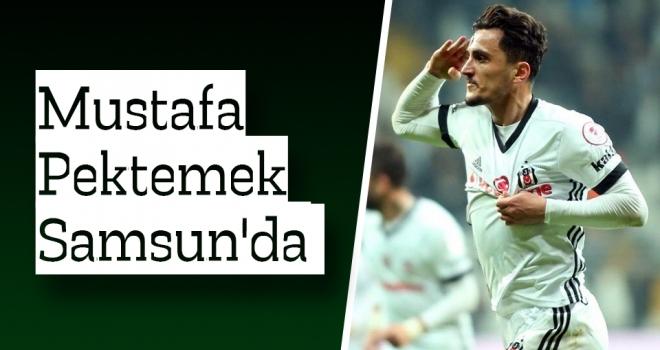 Golcü Oyuncu Mustafa Pektemek Samsun'da