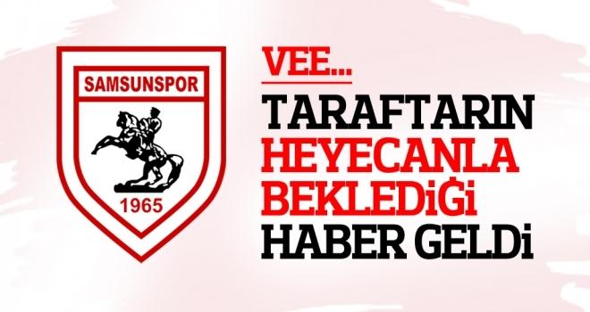 Samsunspor'da transfer startı verildi