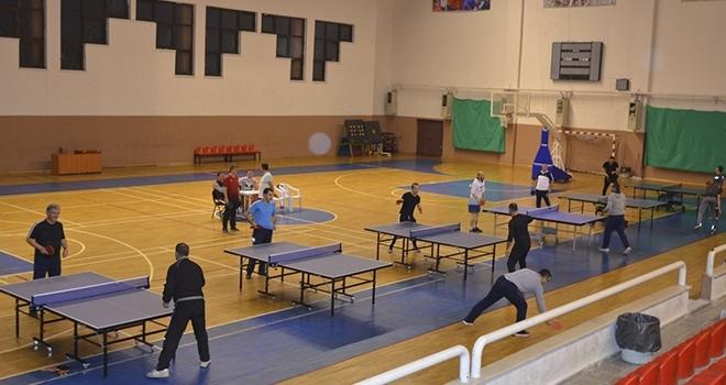 Fatsa'da Masa Tenisi Heyecanı