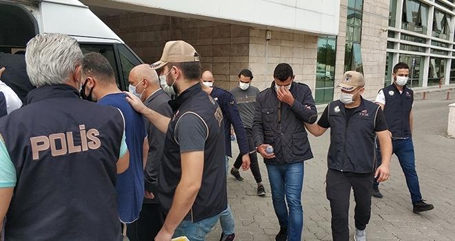 DEAŞ'tan gözaltına alınan 15 kişiden 8'ine ek gözaltı süresi