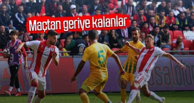 Yılport Samsunspor - Şanlıurfaspor Maçından Geriye kalanlar