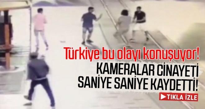 Halit Ayar'ın Cinayetini Kameralar Saniye Saniye Kaydetti!