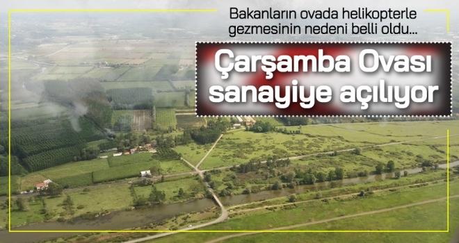 Samsun Valisi Osman Kaymak: Çarşamba Ovası Sanayiye Açılıyor