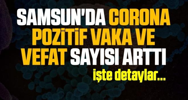 Samsun'da Corona Pozitif Vaka ve Vefat Sayısı Arttı!