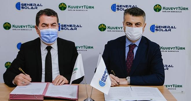 Kuveyt Türk ile Generalsolar Enerji Çatı GES'te iş birliğine gitti
