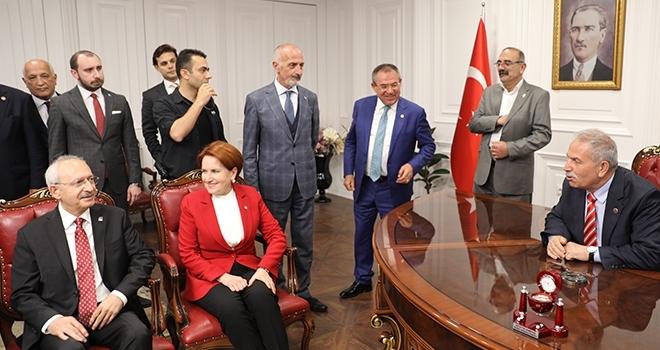 Necattin Demirtaş, Kılıçdaroğlu ve Akşener'i Ağırladı