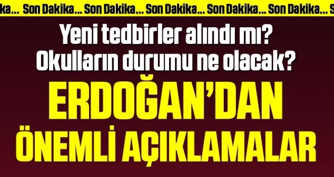 Son dakika… Erdoğan kritik toplantının ardından açıklama yapıyor
