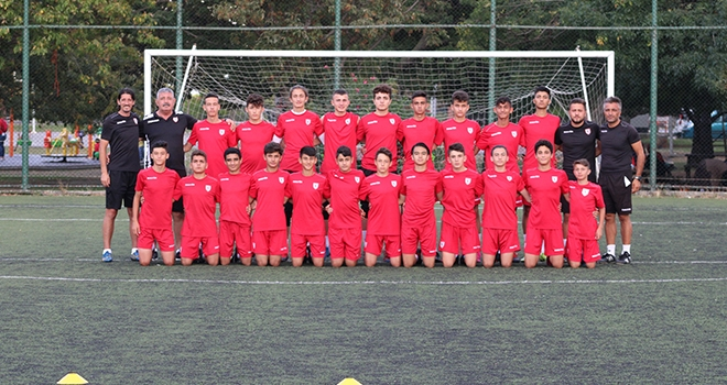 Yılport Samsunspor U15 Taktik Çalıştı