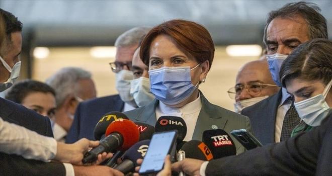 İYİ Parti Genel Başkanı Akşener: İç meselelerimizle Türkiye'yi meşgul etmeyi doğru bulmuyorum
