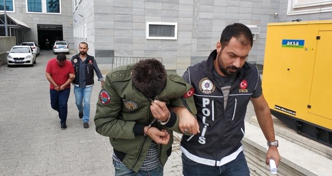 Samsun'da uyuşturucu hap operasyonu: 2 gözaltı