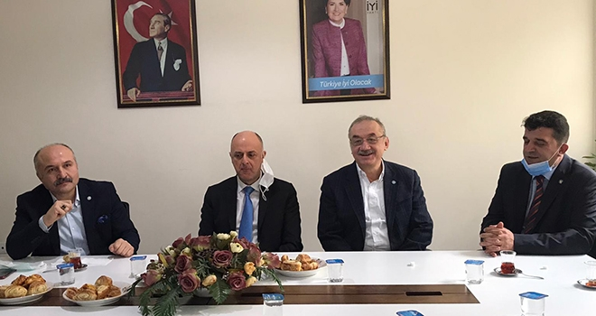 İYİ Parti Samsun Milletvekili Erhan Usta Burdurheyetinde