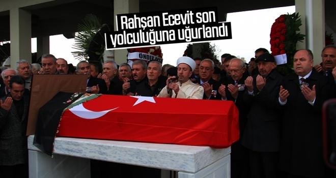Rahşan Ecevit son yolculuğuna uğurlandı