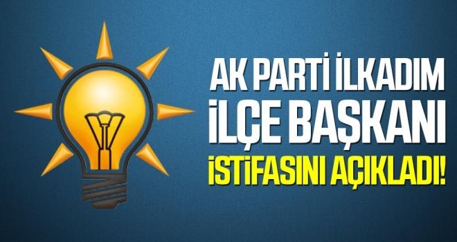 AK Parti İlkadım İlçe Başkanı Oktay Avcılar İstifasını Açıkladı!