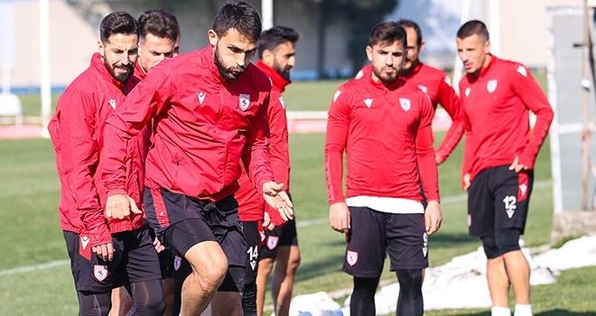 Samsunspor, Eskişehirspor maçı hazırlıklarını tamamladı