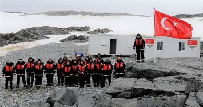 Antarktika Bilim Seferi'ni gerçekleştiren ekip Türk Üssü'ne ulaştı