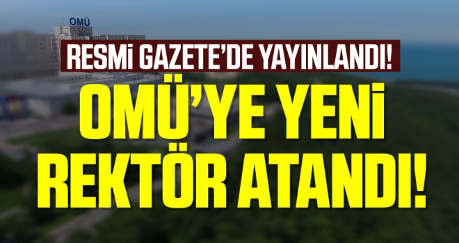 Ondokuz Mayıs Üniversitesi Yeni Rektörü Prof.Dr. Yavuz Ünal oldu