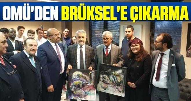 OMÜ'den Brüksel'e Çıkarma