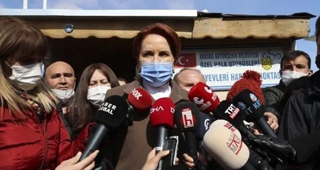 İYİ Parti Genel Başkanı Meral Akşener'den Erdoğan'a: Elini yıkayıp çıkamazsın