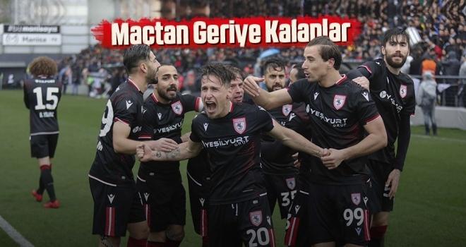 Manisa FK - Yılport Samsunspor Maçından Geriye Kalanlar