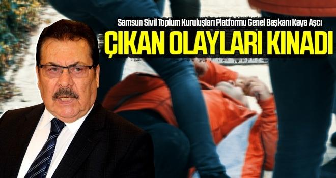 Samsunspor Haberleri | Kaya Aşcı Çıkan Olayları Kınadı