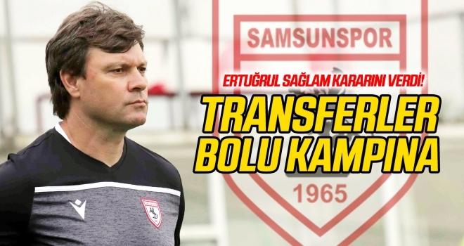 Transferler Bolu kampına