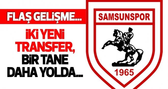 Samsunspor Basketbol'dan iki transfer!