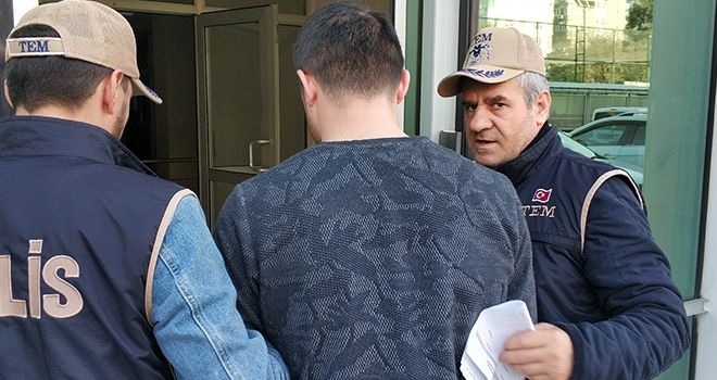 Samsun'da DEAŞ'tan 1 kişiye adli kontrol