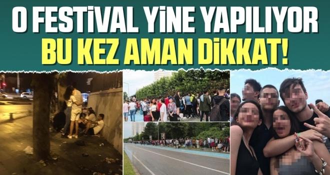 Samsun'da O Festival Yine Yapılıyor Bu Kez Aman Dikkat!