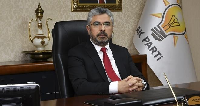 AK Parti Samsun İl Başkanı Ersan Aksu: Yenilenen demiryolu katkı sağlayacak