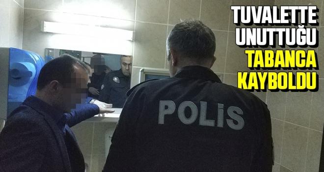 Samsun'da Hastanedeki Tuvalette Unutulan Tabanca Kayboldu