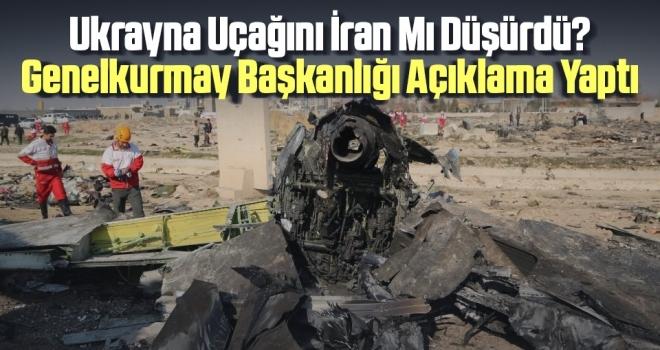 Ukrayna Uçağını İran Mı Düşürdü Genelkurmay Başkanlığı Açıklama Yaptı