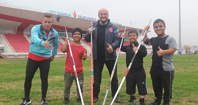 Engell Sporcuların Umudu Oluyor