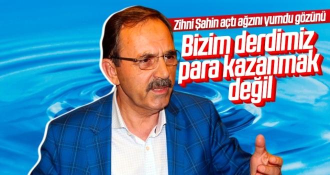 Samsun Büyükşehir Belediyesi eski Başkanı Zihni Şahin: 'Bizim derdimiz para kazanmak değil'