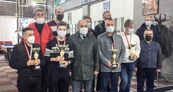 Bilardo Şampiyonu Belirlendi