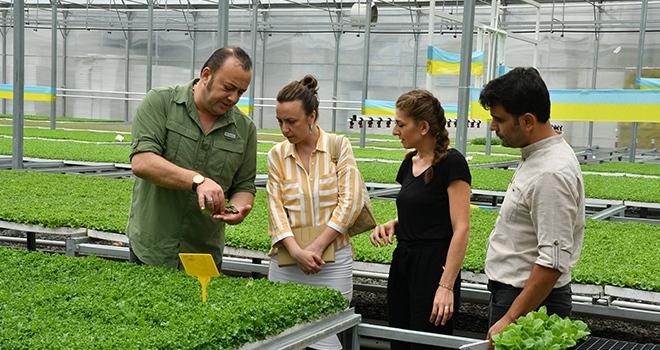 Samsun AB Bilgi Merkezi, IPARD destekli projeleri ziyaret etti