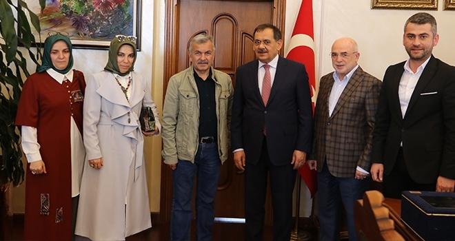 Büyük Anadolu'danBüyükşehir Belediye Başkanı Mustafa Demir'e başarı dileği