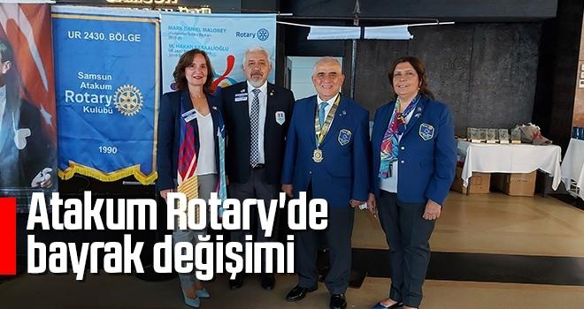 Atakum Rotary'debayrak değişimi