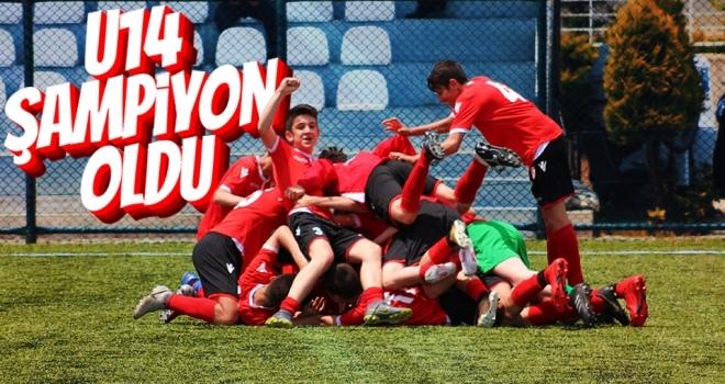 Yılport Samsunspor U14 şampiyon oldu