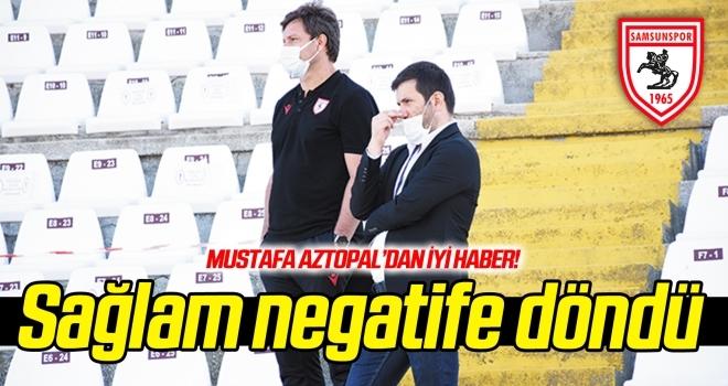 Mustafa Aztopal'dan iyi haber: Ertuğrul Sağlam'ın son testi negatif