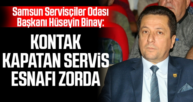 Kontak Kapatan Servis Esnafı Zorda