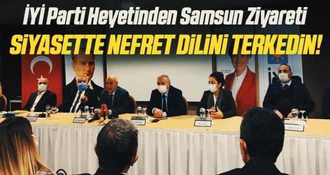 İYİ Parti Genel Başkan Yardımcısı Cihan Paçacı: Siyasette nefretdilini terkedin!