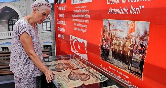 ADD'nin Cumhuriyet Tırı Çeşme'de konuşlandı
