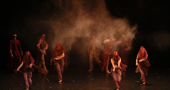 """SamsunDevlet Opera ve Balesi """"Rondo Ala Turka"""" ve """"Güldestan"""" balesini sahneledi"""
